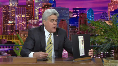 Jay Leno jokes about the PortaPocket